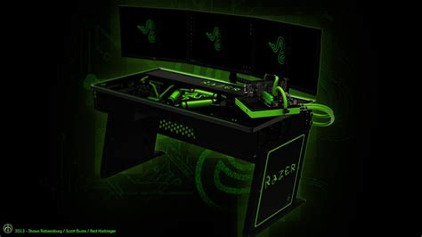 Razer Gaming Desk Razer Gaming Desk The Razer Desk Best 25 Gaming Setup Ideas On Pinterest Pc Gaming Setup