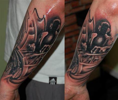 new school vibrant sleeve tattoos black line studio 7 best images about billy on pinterest maori tattoos