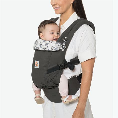 Baby Carrier Geos Baby adapt baby carrier graphic grey ergobaby