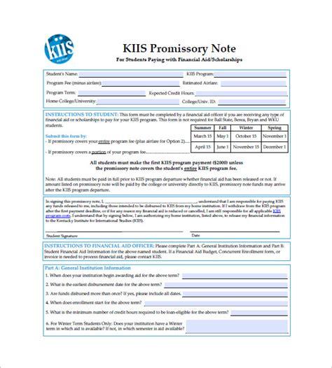 10 international promissory note templates free sle