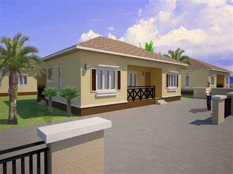 Three Bedroom Bungalow House Plans by Three Bedroom House Plans Three Bedroom Bungalow House