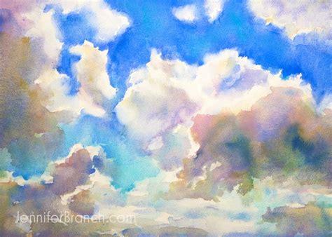tutorial watercolor clouds best 25 blue sky clouds ideas on pinterest blue sky