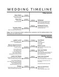 Wedding Reception Timeline Template by How To Create A Wedding Reception Timeline