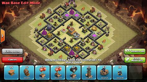 go wipe sweeper anti war air base th8 kyoukai a th 8 war base anti drag anti hogs anti