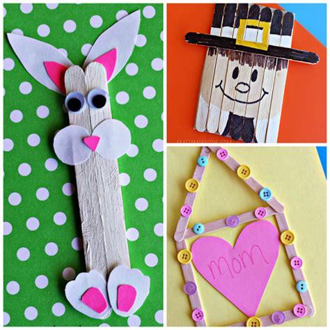 popsicle stick kid crafts popscicle crafts
