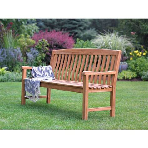 park bench hardware living accents 174 teak wooden park bench ace hardware