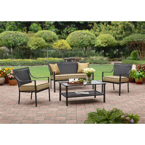 patio furniture at walmart patio sets walmart patio design ideas