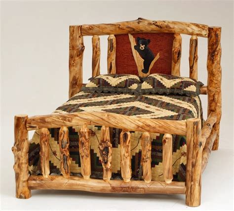 Log Frame Beds Log Bed My Favorite Quot Woodcrafting Quot