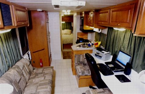 the boat office mark robinson resources motor home mobile office