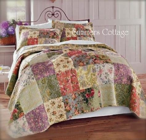 Cottage Bedspreads by Shabby Chic Quilts Bedding Homes