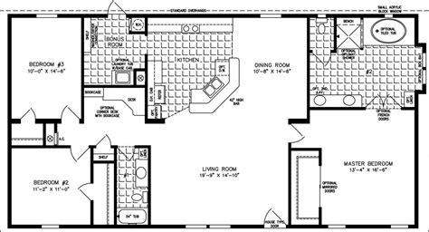 jacobsen modular home floor plans the tnr 4582w manufactured home floor plan jacobsen