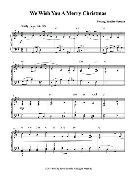 merry christmas piano sheet       sheet