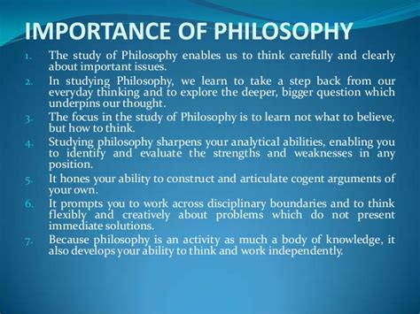 Significance Of L by Lecture 1 Introduction To Philosophy