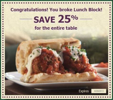 Olive Garden Sweepstakes - olive garden 25 off coupon sweepstakes fanatics