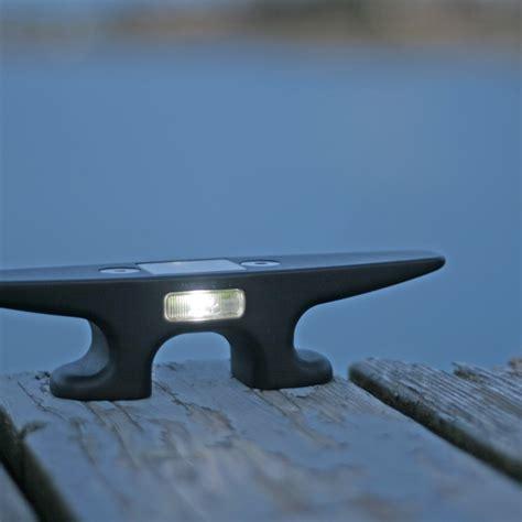 solar lights for dock posts rectangle solar dock post lights mc docks