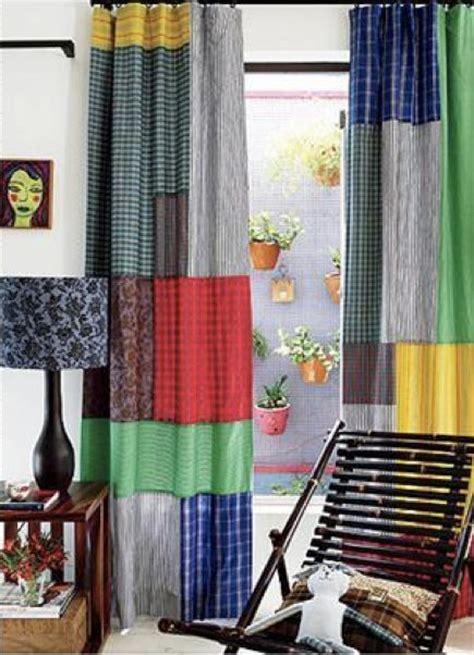 Patchwork Panels - 17 best ideas about patchwork curtains on