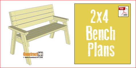 2 x 4 bench plans 2 x 4 bench plans 28 images diy 2x4 bench