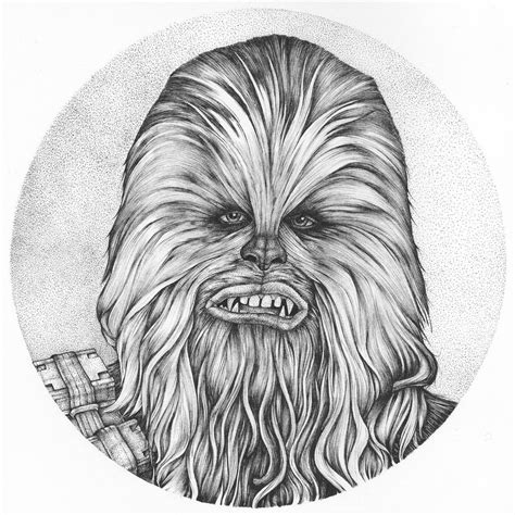 How To Draw Chewbacca