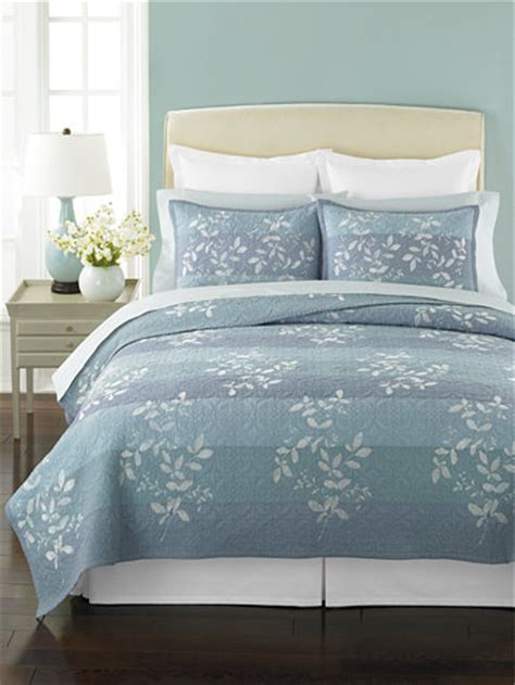Martha Stewart Bedding Macys by Closeout Martha Stewart Collection Silhouette Stripe Quilts
