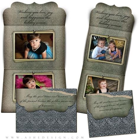 Folded Luxe Card Templates by Folded Luxe Card Set Tomorrow S Memories