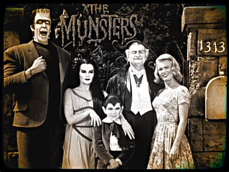 60 s tv shows the munsters the munsters wallpaper 32612935 fanpop