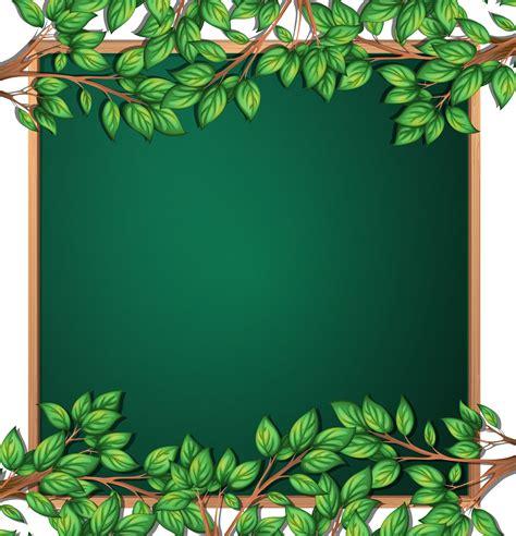 wooden tree branch frame   vectors clipart