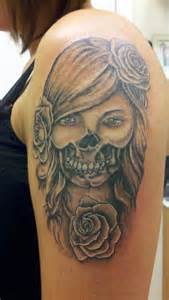 day of dead tattoos pictures cool tattoos bonbaden