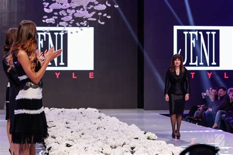 second day of week jeni jivkova opened the second day of sofia fashion week