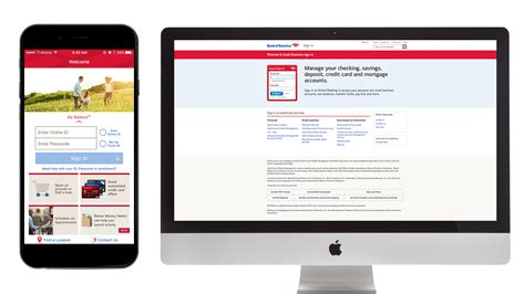 find a bank of america how to find and use your bank of america login