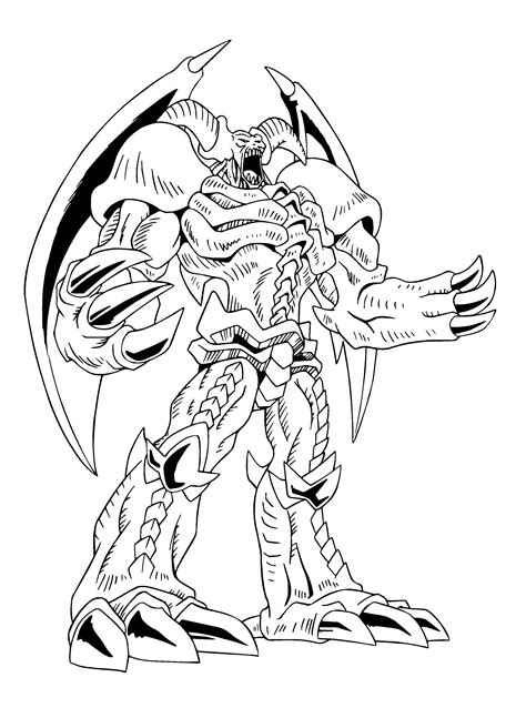 Coloring Page Yu Gi Oh by Free Yugioh Zexal Coloring Pages