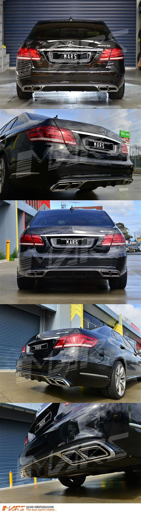 Mercedes W212 E500 Durable Premium Car Cover List Black amg e63 style bumper diffuser exhaust tips for mercedes standard w212 bar ebay
