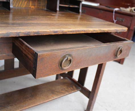 bargain johns antiques antique mission oak desk