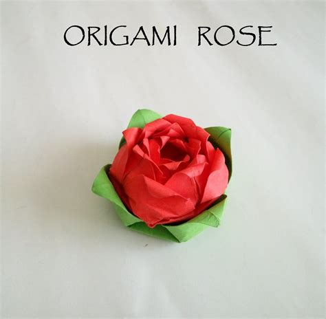 origami rose tutorial davor vinko 折り紙のバラ how to make an origami rose tutorial 종이 접기 장미 折纸玫瑰