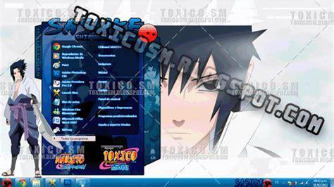 download themes for windows 7 sasuke theme windows 7 sasuke by toxicosm on deviantart