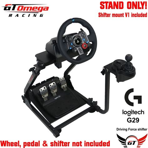 Logitech G29 Gaming Driving Wheel gt omega gaming wheel stand pro for logitech g29 racing