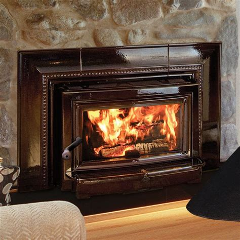 fireplace inserts wood burning with blower for home living