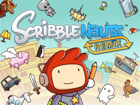 scriblenauts remix apk scribblenauts remix gaming to learn