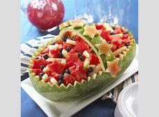 Watermelon Board   Americana Basket Watermelon Carving Ideas