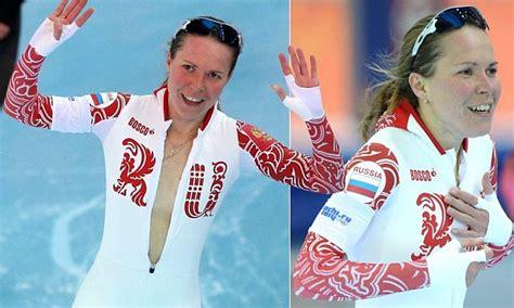 russian speed skater olga graf risks sochi olympic fallout