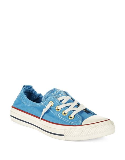 shoreline sneaker converse s shoreline sneakers in blue lyst