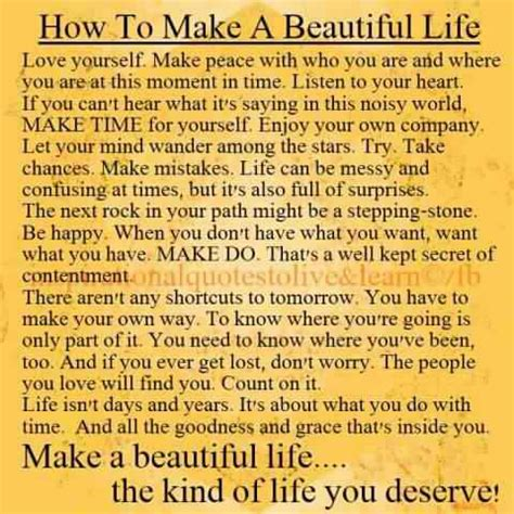 how to make it how to make a beautiful positive thoughts