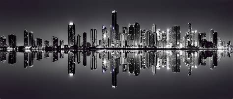 black and white sydney skyline wallpaper the facts and reflections from the skyline of miami florida u s a alo