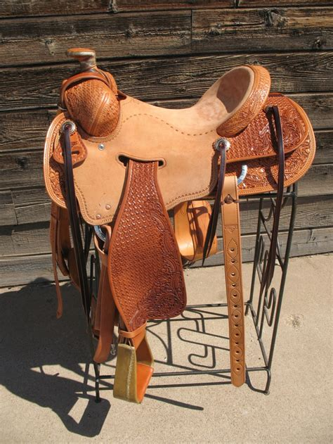 Handmade Saddles For Sale - custom built saddle 16 quot low moose tree handmade saddles