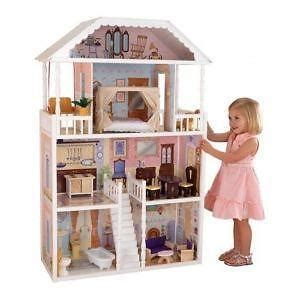 wooden barbie doll houses barbie doll house ebay