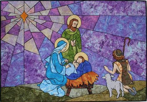 quilt pattern nativity scene stained glass nativity patterns nativity quilt pattern