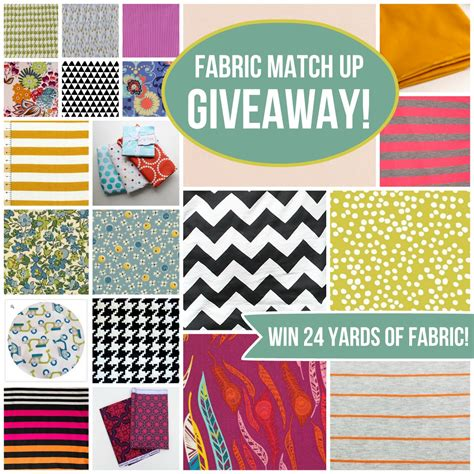 Giveaway Fabric - block printed fabric celina mancurti fabric giveaway