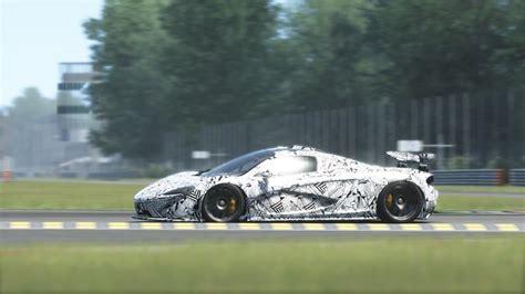 camo mclaren mclaren p1 camouflage prototype racedepartment