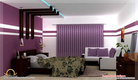 3d home interiors beautiful 3d interior designs kerala home design and floor plans