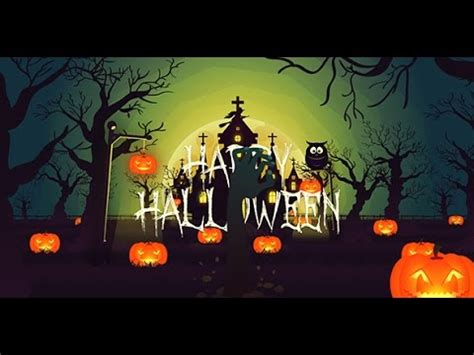 template after effects halloween free happy halloween after effects template youtube