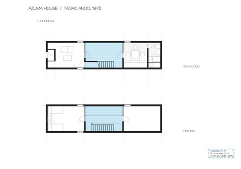 tadao ando floor plans row house cristina olucha